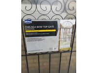 Chelsea Bow Top Gate ( from Wickes )