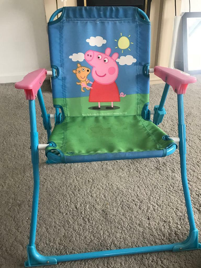 Peppa pig chair