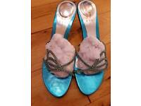 Size 7 Unze Indian fancy heels