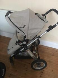 Twingo 3 in 1 travel system