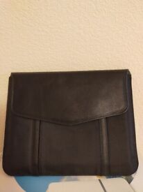 Leather case and other items