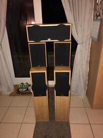 For sale Eltax liberty 5 plus speaker system