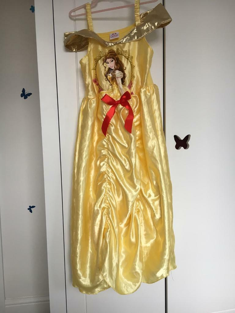 Belle Disney dressing up dress Age 7-8