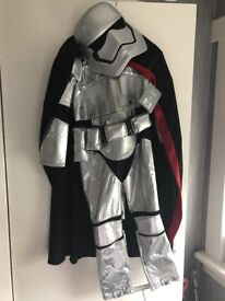 Disney store silver stormtrooper costume
