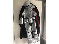 Disney store silver stormtrooper costume