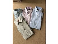 "4 Next shirts ""as new"" size 15.5 collar slim fit"