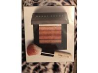 Bobbi Brown Shimmer Brick Set Bronzer Colours & mini face Blender Brush -SEALED!!!