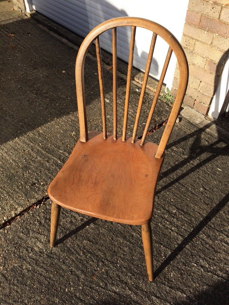 Solid Wooden chair - Shabby Chic project