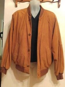 OAKVILLE Danier Mens Leather Jacket Supersoft wide Dolman Sleeves M but fits like Large 40 42 44
