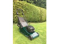 Hayter Harrier 48 self propelled roller lawnmower (serviced)