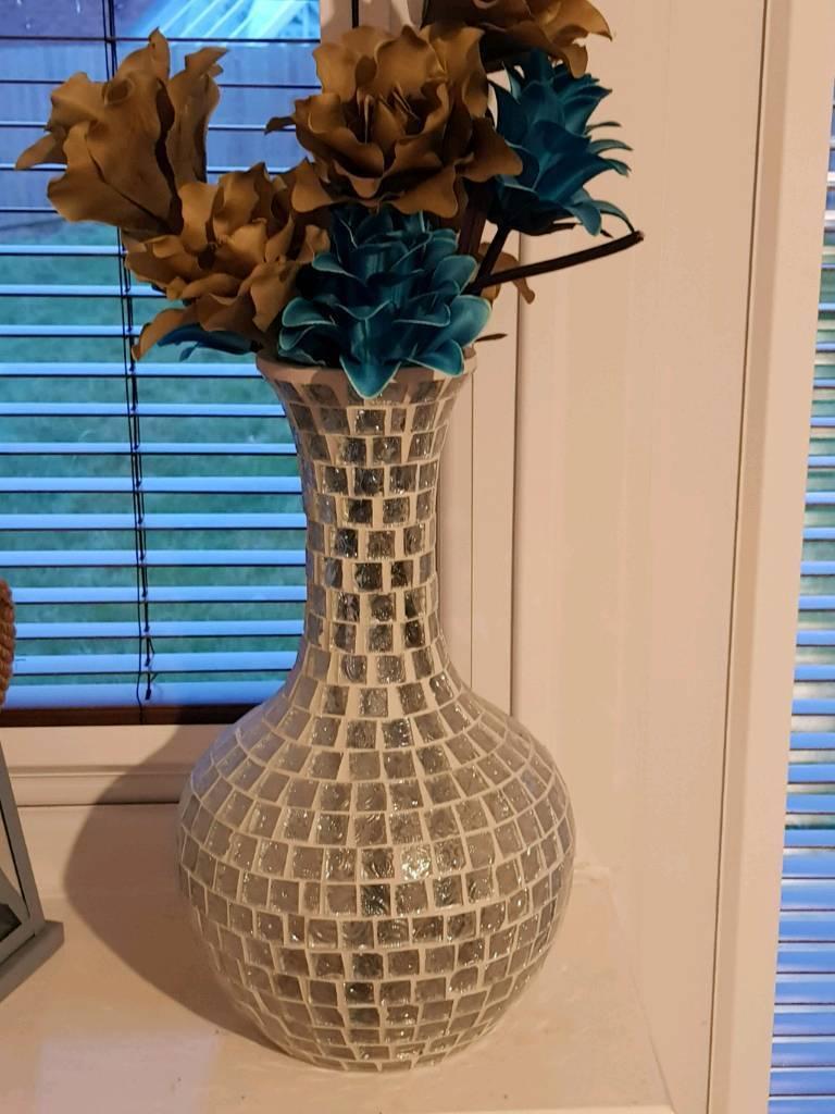Handmade mosaic vase