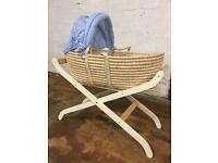 Baby basket and stand