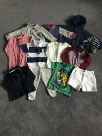 Boys Bundle Age 9-12 months