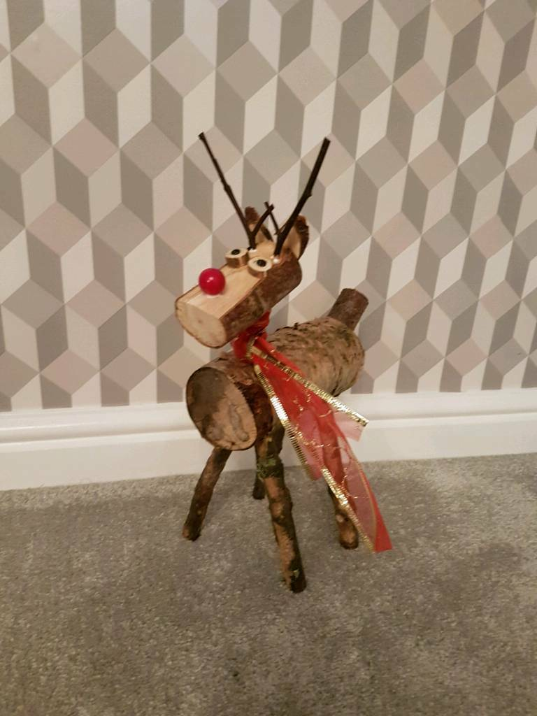 Christmas mini log Reindeer