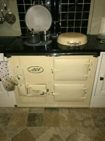 Traditional aga cooker, gas.