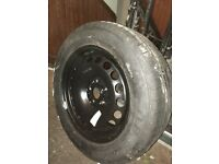 Dunlop 215 / 55 R16 spare wheel VW Passat