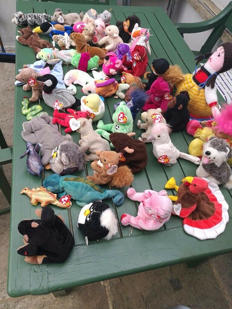 Assorted beanie babies