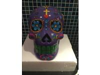 Day of the dead skull ( money box)
