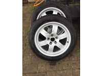 Audi A5 17'' alloys with tyres