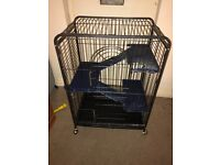 Two tier chinchilla cage or other small animals
