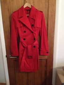 Next' Womens trench mac, size 14 (used once)