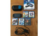 PS Vita Games Console with 5 Games compatible with PS4