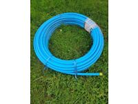 Water Pipes - MDPE PIPE BLUE 25MM X 50M