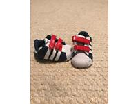 Baby adidas shoes. Size 0