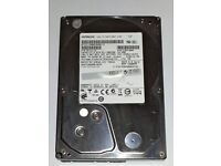 Hitachi 2TB 7200rpm 64MB 3.5in SATA III Hard Drive for Desktop PC, HDS723020BLA642