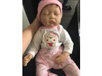 Reborn doll great condition