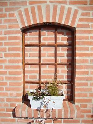 Angebot!!  Neu Gussfenster, Stallfenster Fenster Bogen 12 Felder