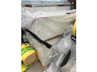 White plasterboards