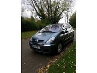 2009 citreon picasso 1.6 petrol 1yr mot&new clutch