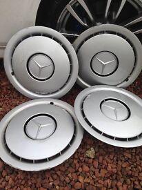 """16"""" Mercedes Wheel Trims x 4 which were on a 230E"""