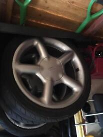 2 sets of mondeo 16 inch alloys