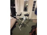 Exercise Bike. Cycle. Lightweight so easy to get out and put away. Bargain
