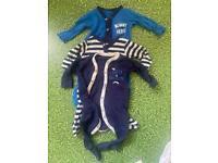 0-3m baby sleep suit bundles