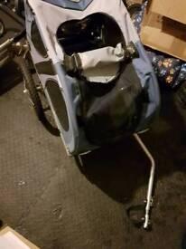 Pet carrier/ bike tag along