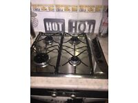 Whirlpool Gas Hob 4 Burners - Stainless Steel - fully working