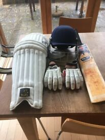 Cricket Equipment - Youth Size - For sale