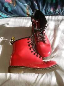 Childrens Airwair boots size 10