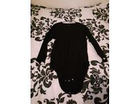 Adult Incontinence Long Sleeve Onesie Vest T-Shirt