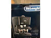 Coffee machine espresso/late Delongi