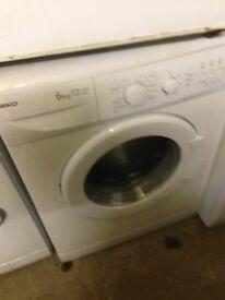 Beko white washing machine..Cheap Free delivery