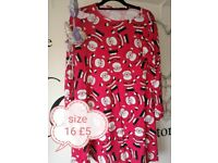 Size 16 Christmas dress