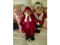 Large clown Dolls were £29.99 each buy both for £10