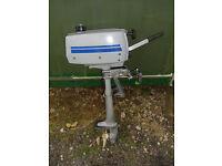 Mariner 2 HP 2 Stroke Short Shaft Outboard Engine