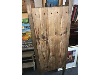 Great Oversized Antique Primitive Handmade Wooden Bakery Bread/Dough Serving Board