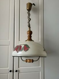 Retro Drop Down Ceiling Light