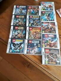 Nintendo DS and 3DS LEGO games